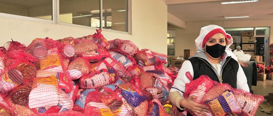 Sábado 15 de Agosto, entrega de Bolsa de Alimentos Junaeb, para cursos de  Pre Kínder a Cuarto Medio.